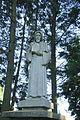 Statue 5 in gardens of Domov svaté Anežky in Velký Újezd, Kojatice, Třebíč District.JPG