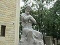 Statue of Fuzuli in Guba.jpg