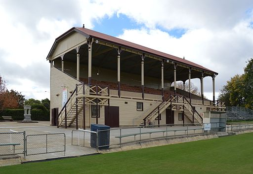 Stawell Central Park No 1. Grandstand 001
