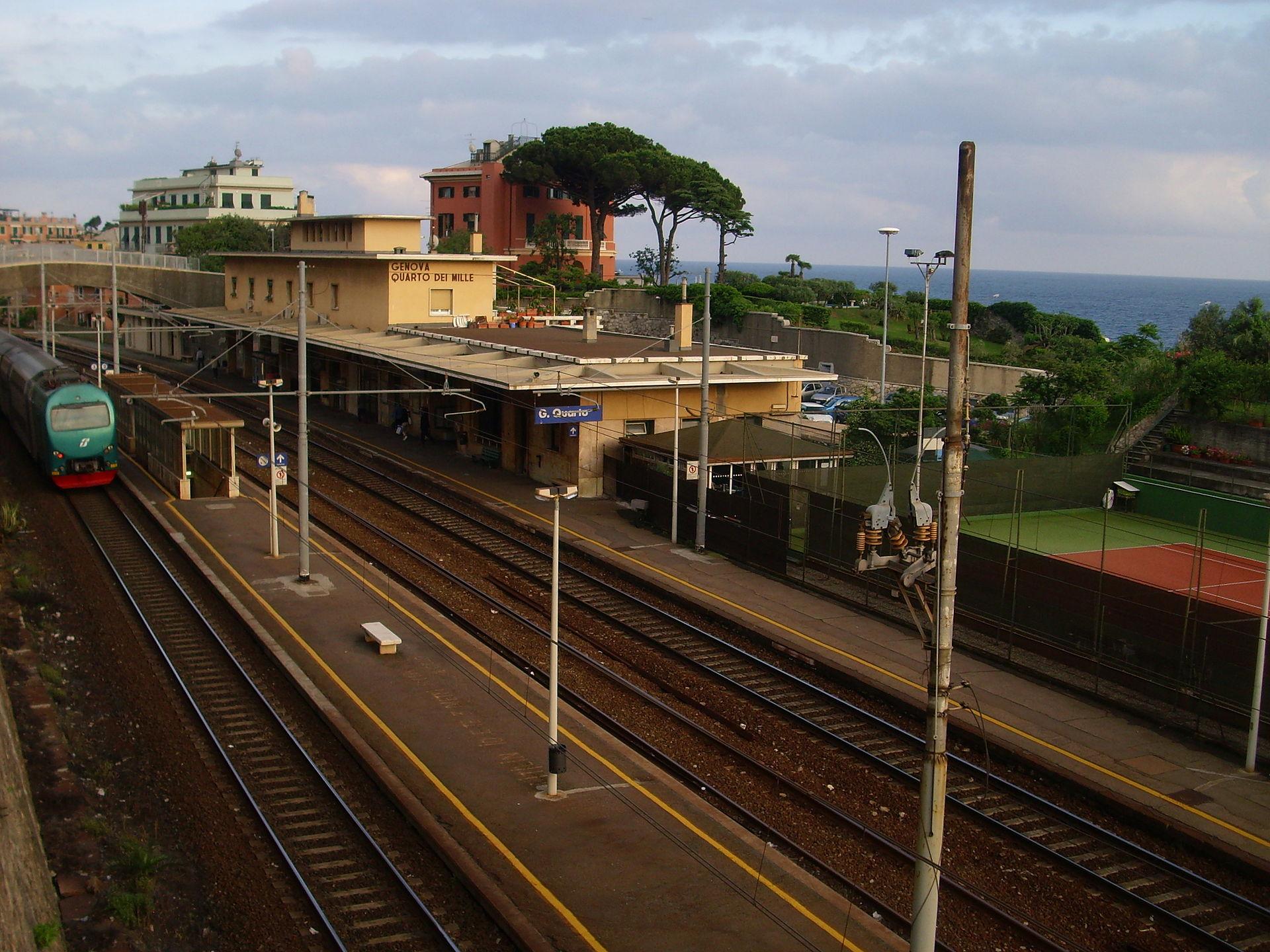 Da Stazione Fs Genova Brignole A Via Villa Glori