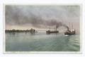 Steamers off Belle Isle Light, Detroit, Mich (NYPL b12647398-75605).tiff
