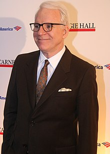 Photo of Steve Martin at the 120th Anniversary of Carnegie Hall in April 2011.