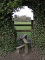 Stile and arch between Compton and Shawford - geograph.org.uk - 367657.jpg