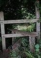 Stile on footpath near Easebourne - geograph.org.uk - 1398260.jpg