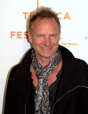 Sting at the 2009 Tribeca Film Festival for th...