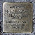 Stolperstein Bochumer Str 18 (Moabi) Heinz Hermann Freudenthal.jpg