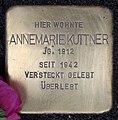 Stolperstein Bundesallee 26 (Wilmd) Annemarie Kuttner.jpg