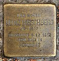 Stolperstein Florastr 61 (Panko) Heinz Hirschberg.jpg