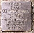 Stolperstein Konstanzer Str 51 (Wilmd) Lizzy Schwerdtfeger.jpg