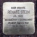 Stolperstein Teutonenstr 23 (Nikol) Renate Stein.jpg
