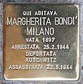 Stolperstein für Margherita Bondi Milano (Rom).jpg