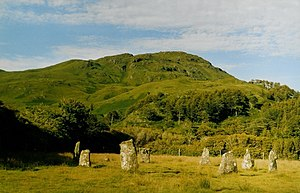Mull - The stone circle at Loch Buie