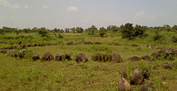 Stone circle at Junapani, Nagpur.jpg