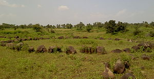 Stone circles of Junapani - Stone circle at Junapani