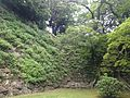 Stone wall of Tenshu of Fukuoka Castle 1.JPG