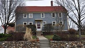 Elisha Knight Homestead - Image: Stoneham MA Elisha Wright Homestead