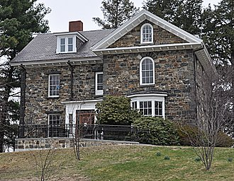 Middlesex Fells Reservation - The John Botume House, which serves as the park's visitor center.