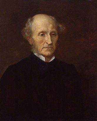 John Stuart Mill - Portrait of Mill by George Frederic Watts (1873)