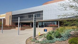 UC Riverside Student Recreation Center - Image: Student Recreation Center Arena (UC Riverside)