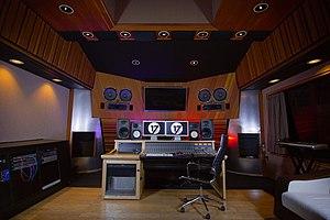 17 Hertz Studio - Studio B Control Room