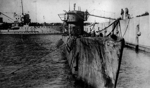Submarino Aleman U-977
