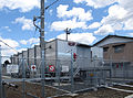 Substation for JR East energy accumulating vehicle ACCUM at Karasuyama station.jpg