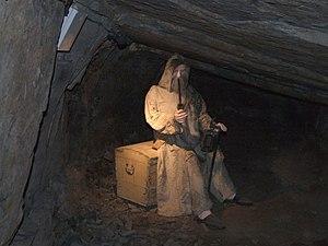 Karzełek - Skarbnik in Subterranean Skansen Guido Zabrze