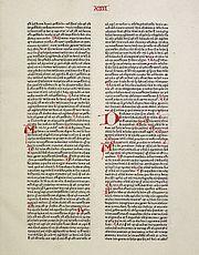 Summa theologiae, Pars secunda, prima pars. (copy by Peter Schöffer, 1471)