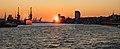 Sunset in Hamburg Port, 2016 (25274135413).jpg