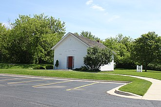 Superior Township, Washtenaw County, Michigan - Image: Superior Township Michigan Original Town Hall