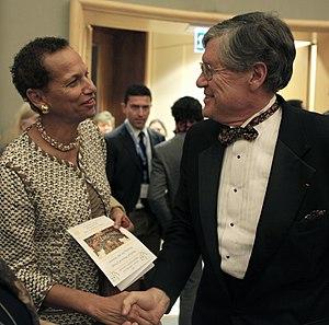 Jim Bittermann - Jim Bittermann (right) with Betty E. King (2011)