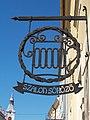 Szalon Pub sign. - 26 Széchenyi Street, Eger, 2016 Hungary.jpg