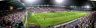 Újpest FC - Image: Szusza Ferenc Stadion, panoráma