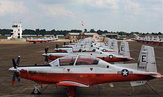 Beechcraft T-6 Texan II - US Navy T-6B Texan IIs based at NAS Whiting Field