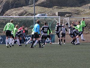 2012 Faroe Islands Premier League - TB Tvøroyri vs. B36 Tórshavn on 15 April 2012.