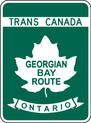 Ontario Highway 69 - Image: TCH GBR