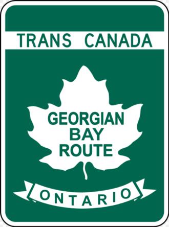 Ontario Highway 69 - Image: TCH GBR