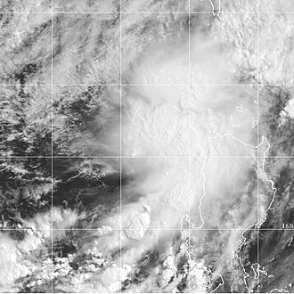 2000 Pacific typhoon season - Image: TD Konsing 03W 21 may 2000 0031Z