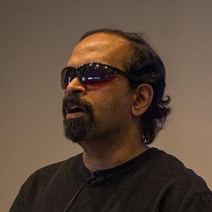 T. V. Raman - Image: TV Raman in October 2011