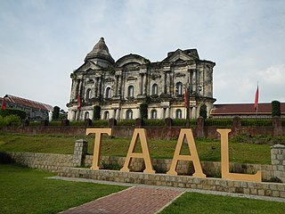 Taal, Batangas Municipality in Calabarzon, Philippines