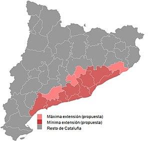 fictional region of Catalonia