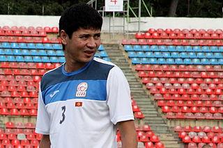 Talant Samsaliev Kyrgyzstani footballer