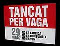 Tancat per vaga 29 de març No es fabrica, no es consumeix, no es ven (València).JPG