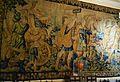 Tapís flamenc amb escena de triomf romà, fumoir del palau del marqués de Dosaigües.JPG