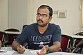 Tapas Deb Talks - West Bengal Wikimedians Strategy Meetup - Kolkata 2017-08-06 1646.JPG