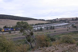 Tarago, New South Wales - Intermodal transfer station