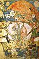 Tariel fighting King Ramaz. Tavakarashvili H-599, 137v, 17th c.jpg