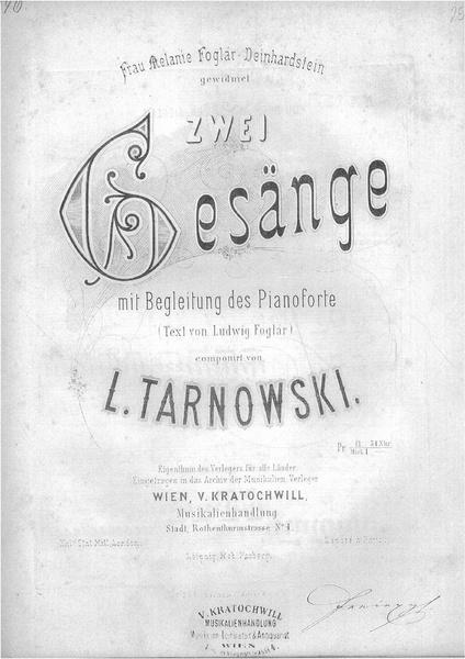 File:Tarnowski - Zwei Gesänge mit Begleitung des Pianoforte (1.Du Buch mit sieben Siegeln; 2.Ob du nun Ruhst)-1.pdf