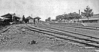 Tatebayashi Station - Tatebayashi Station circa 1910