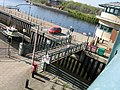 Tees Barrage lifting lock roadfootbridge from roadbridge-2.jpg